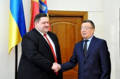 Igor Gundych Met Ambassador of Kazakhstan to Create Joint Business Projects